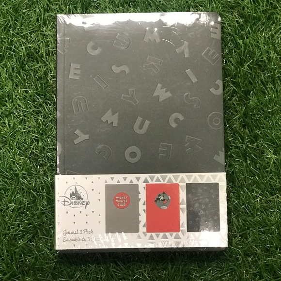 Disney Other - Disney Mickey Mouse Journals (3-Pack)